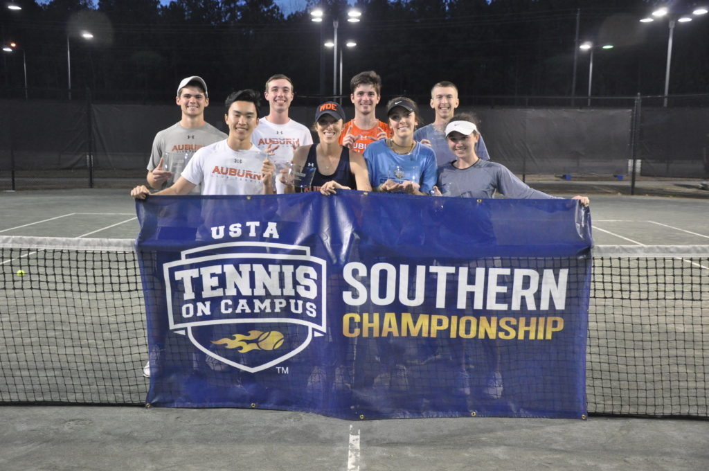 Auburn's A team, Tennis On Campus, Southern ,Championship